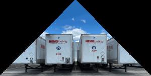 hemo logistics trailers in fleet